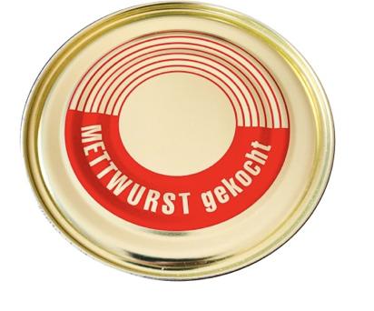 Mettwurst gekocht vom Bunten Bentheimer Schwein