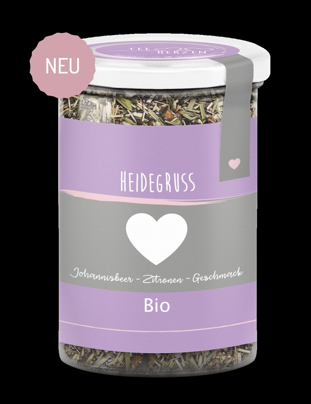 "Bio Tee ""Heidegruß"""