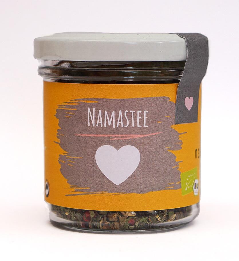 "Bio Tee ""Namastee"" klein"