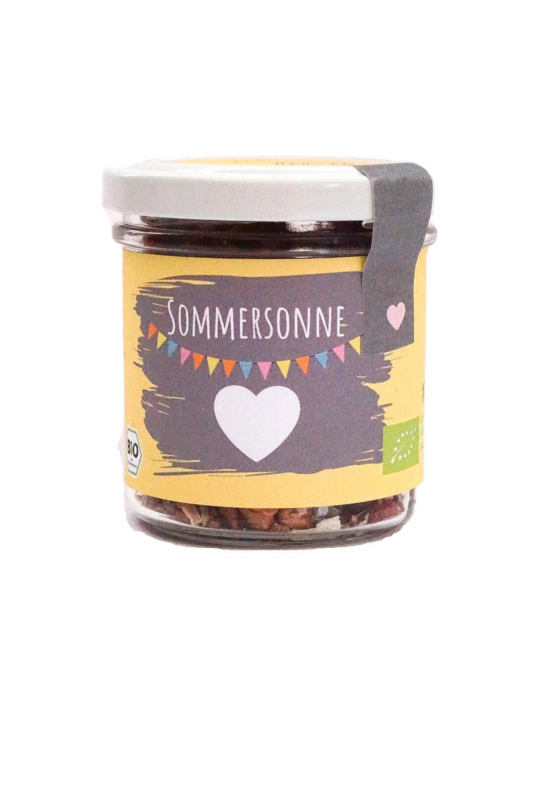 """Bio Tee """"Sommersonne"""" klein"""