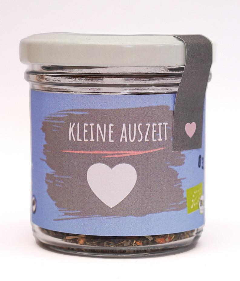 """Bio Tee """"Kleine Auszeit"""" klein"""