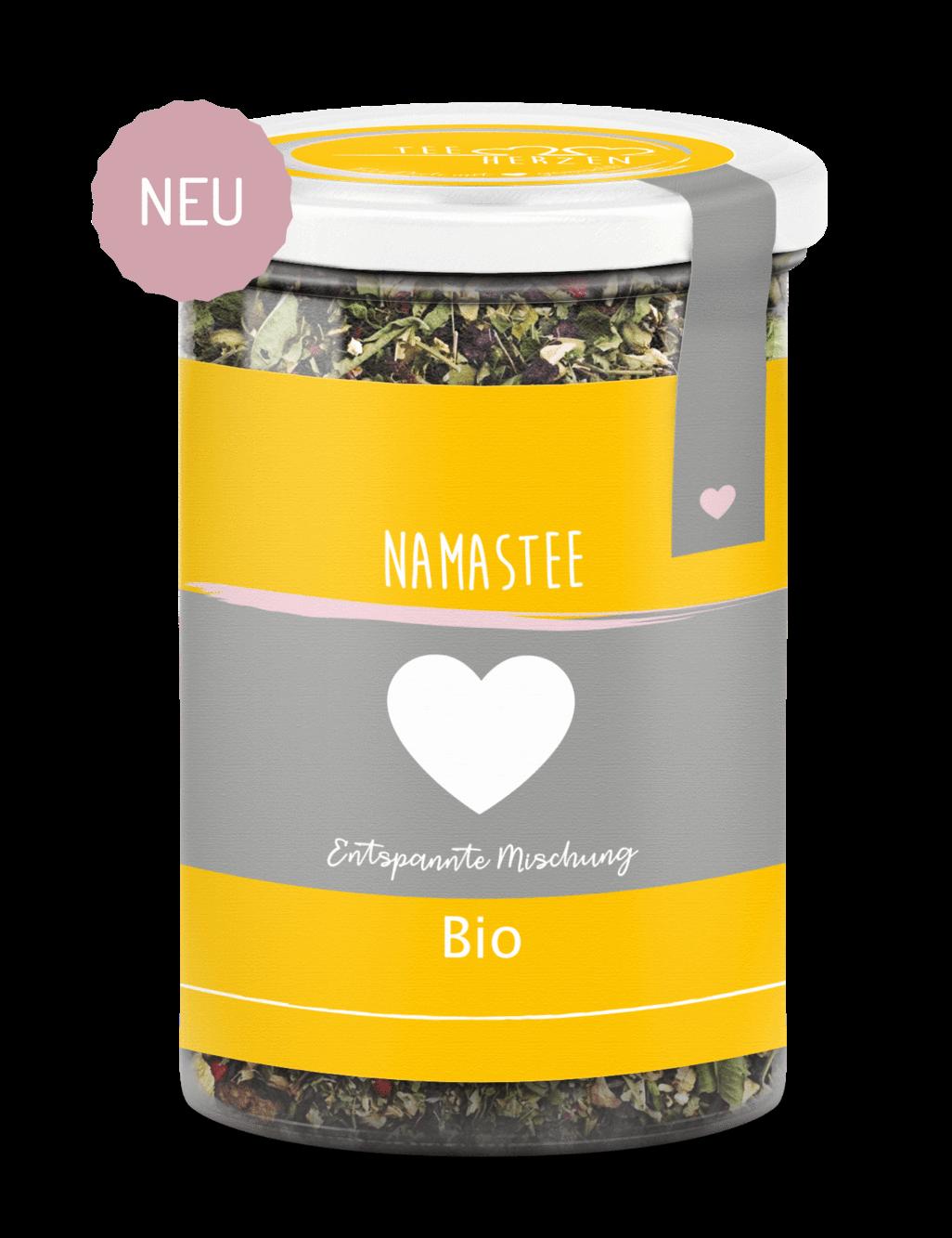 """Bio Tee """"Namastee"""""""