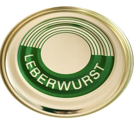 Dosenwurst Leberwurst