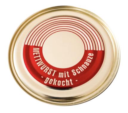 Mett mit Schnauze gekocht vom Bunten Bentheimer Schwein