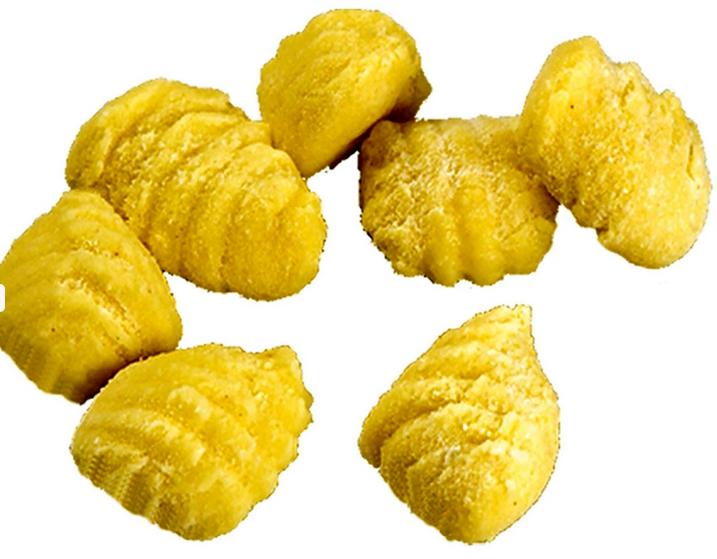 Gnocchi di ceci e patate (Kartoffel - Kichererbsen Klößchen)